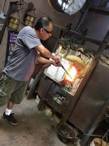 Glass Blowing, Santa Barbara, California