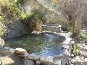 Natural Hot Springs, Hiking in Santa Barbara, California