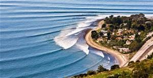 Surfing, Rincon, Santa Barbara, California