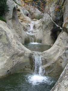 Seven Falls Hiking Santa Barbara California