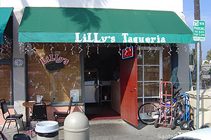 Lilly's Taqueria. Santa Barbara, California