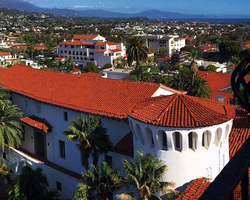 Santa Barbara Couthouse